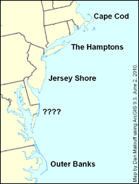 Beaches of the Northeast and Mid-Atlantic