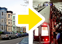 More households near transit mean more transit riders