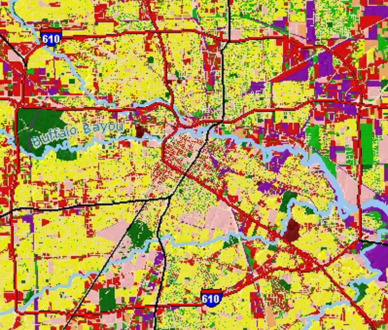 Houston Zoning Map